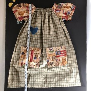 Vintage handmade Bear dress